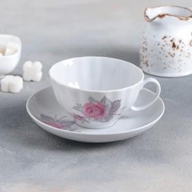 Чайная пара «Дикая роза», 200 мл