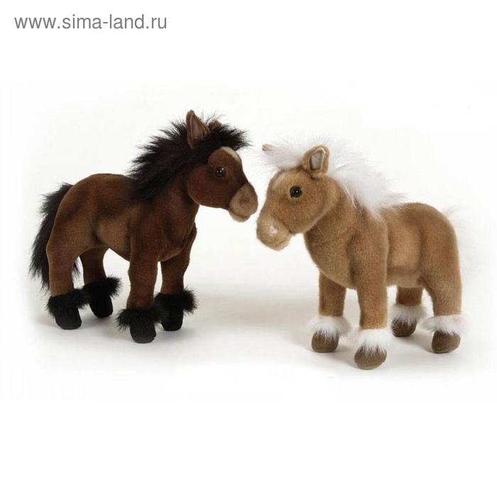 """Мягкая игрушка """"Пони шоколадно-коричневый"""""""