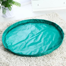 Коврик для игрушек диаметр 100 см, цвет зелёный Ош