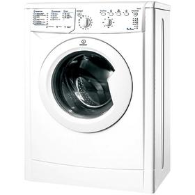 Стиральная машина Indesit IWUB 4105 (CIS), класс A, 1000 об/мин, 4 кг, белая