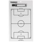 """Тактическая доска для футбола """"TORRES"""", арт. TR1002S, маркерная, с зажимом"""