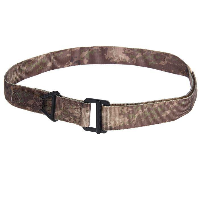 Ремень поясной KINGRIN CQB camo nylon belt-two site in stock (A-tacs) BA-05-AT-L