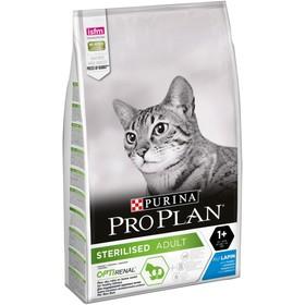Сухой корм PRO PLAN для стерилизованных кошек, кролик, 10 кг