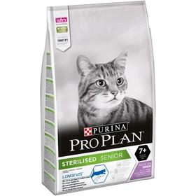 Сухой корм PRO PLAN для стерилизованных кошек старше 7 лет, индейка, 10 кг
