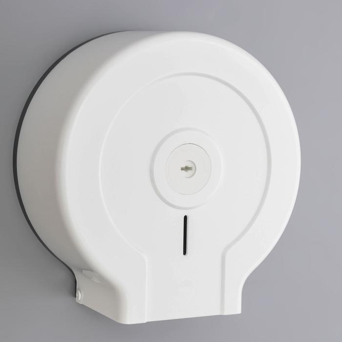 Диспенсер туалетной бумаги, цвет белый