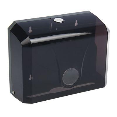 Диспенсер бумажных полотенец в листах, цвет черный