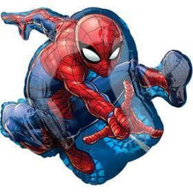 """Шар фольгированный 29"""" «Человек паук в прыжке»"""