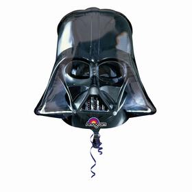 """Шар фольгированный 43"""" «Звёздные войны. Шлем Вейдера»"""