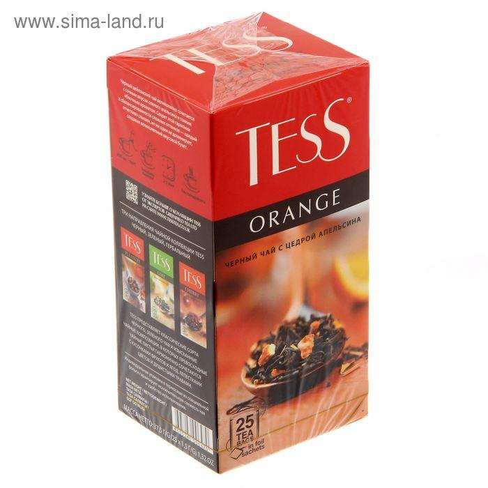 Чай Tess Orange, black tea, 25п*1,5 гр.