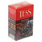 Чай Tess Thyme, black tea, 100 гр.