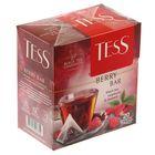 Чай Tess пирамидки Berry Bar, black tea, 20п*1,8 гр.