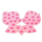 "Mini bath Mat ""Kiss"", MIX color"