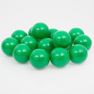 Шарики для сухого бассейна с рисунком, диаметр шара 7,5 см, набор 500 штук, цвет зелёный
