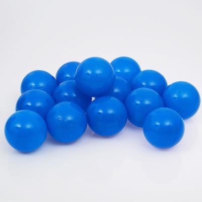 Шарики для сухого бассейна с рисунком, диаметр шара 7,5 см, набор 500 штук, цвет синий