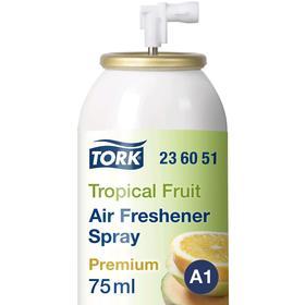 Освежитель воздуха аэрозольный Tork, тропический аромат, (A1) 75 мл.