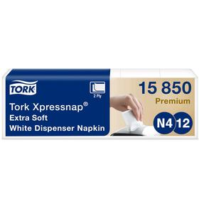 Салфетки диспенсерные Tork Xpressnap (N4) ультра-мягкие, 200 листов