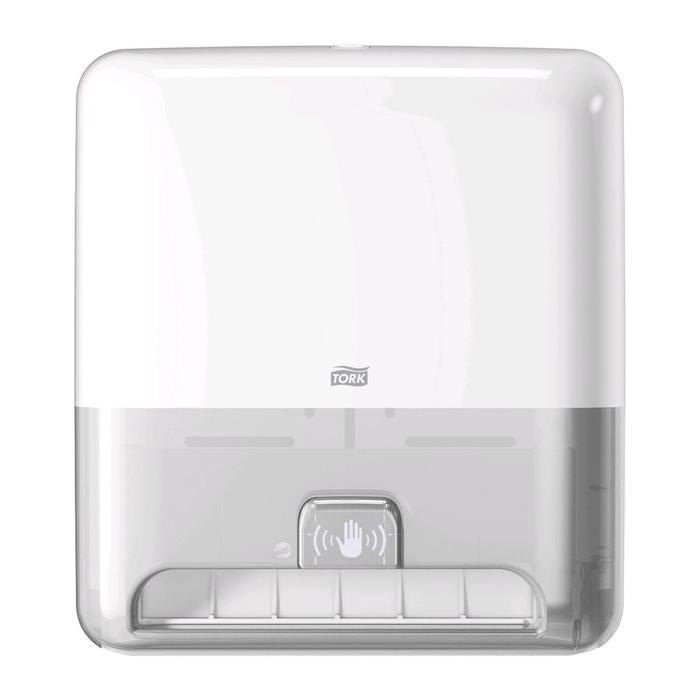 Диспенсер для полотенец в рулонах Tork Matic (H1) с сенсором Intuition® белый