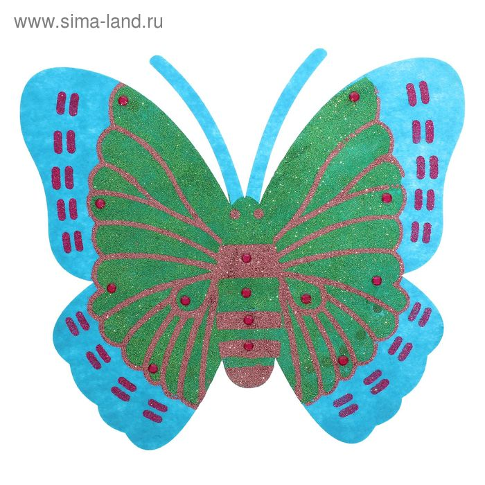 "Карнавальные крылья ""Бабочка"" яркая цвета МИКС"