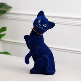 """Копилка """"Кошка Лапушка"""", покрытие флок, 26 см, микс"""
