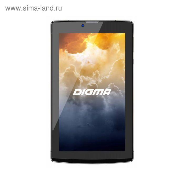 "Планшет Digma Plane 7004 3G Dark Grey 7"",1024x600,8Gb,Wi-Fi,BT,GPS,Android, цвет графит"