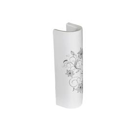 Пьедестал SANITA LUXE «Art Flora», цвет белый