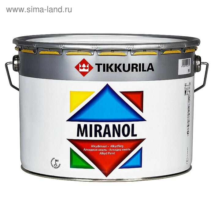 Эмаль Tikkurila MIRANOL тиксотроп, 9 л