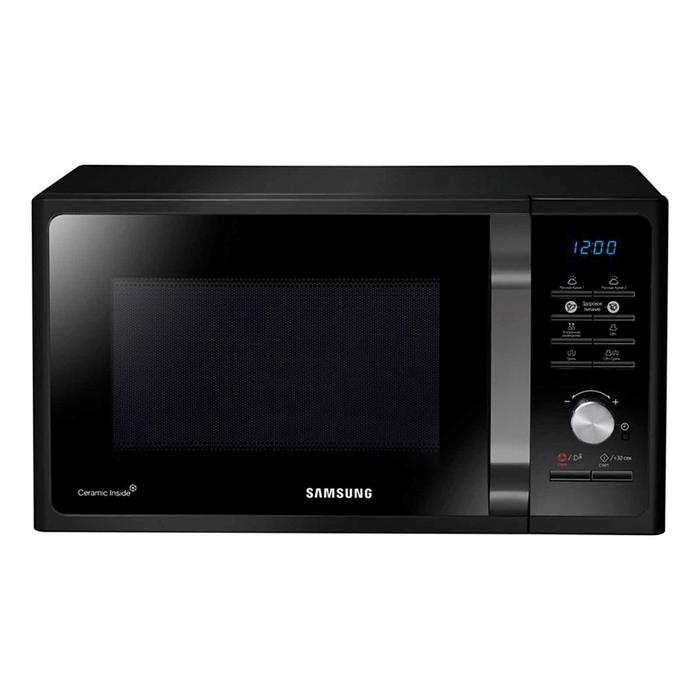 Микроволновая печь Samsung MG23F302TAK, 23 л, 800 Вт, гриль, защита от детей, черный
