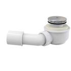 Сифон для душевого поддона Alcaplast A471CR, d=50 мм, заниженный, цвет хром