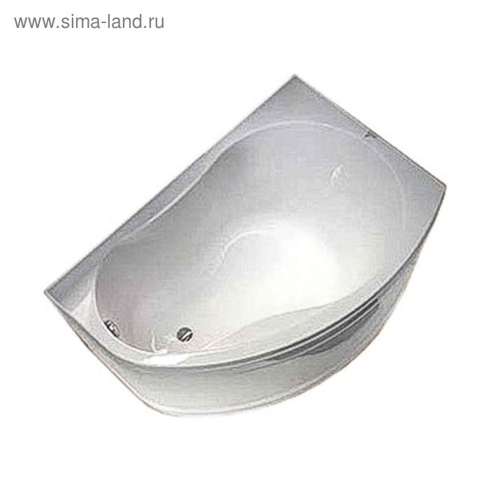 Ванна акриловая IFO Rattvik BA20150000, правосторонняя асимметричная, 150х100 см