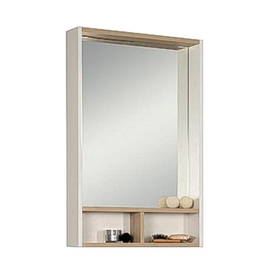 Шкаф-зеркало «Йорк 55», цвет белый ясень