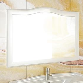 """Зеркало """"Монако-120"""" белый"""