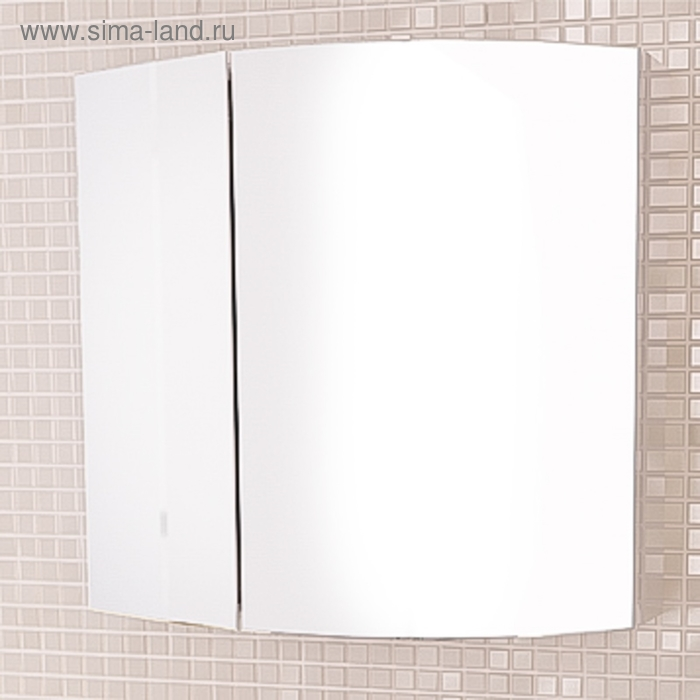 "Зеркало-шкаф ""Лаура-60-2"" белый"