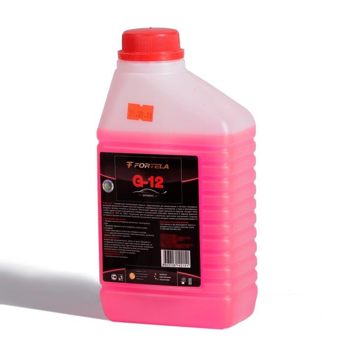 Антифриз FORTELA G-12 красный, 1 кг