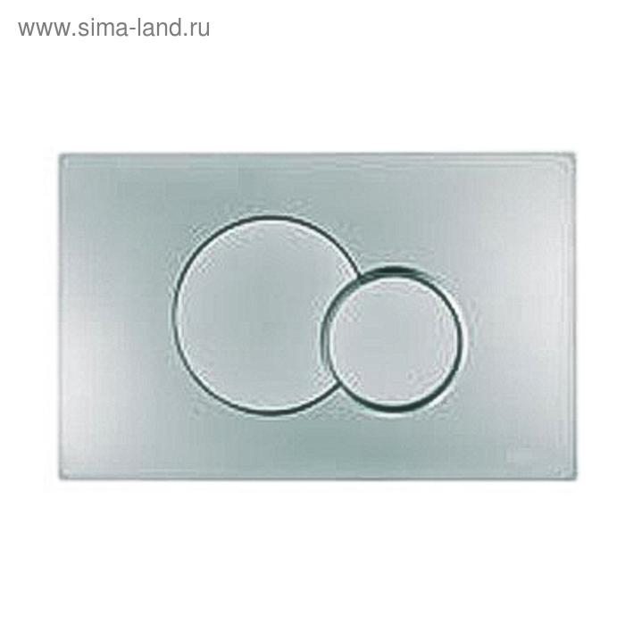 Кнопка Eclipse 2 механическая, цвет - хром, для системы инсталляции RP150101000, RP051022000   15115