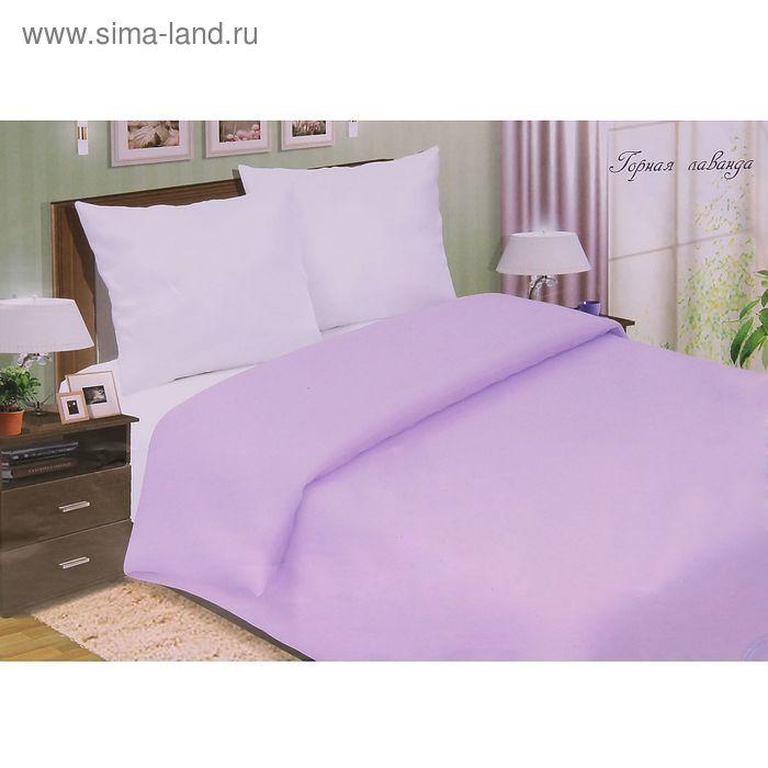 "Постельное бельё Pastel ""Горная лаванда"" евро, размер 200х217 см, 220х240 см, 70х70 см - 2 шт., поплин, 110 г/м2"