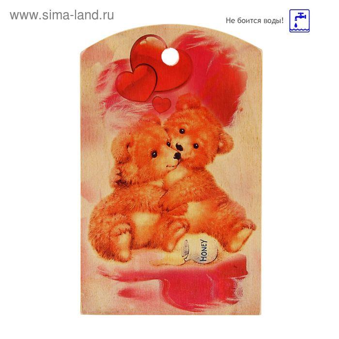 Доска сувенирная фанера 150*250 валентинка