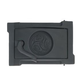 Дверка поддувная уплотнённая ДПУ-2Б Рубцовск 300х202х75 крашеная