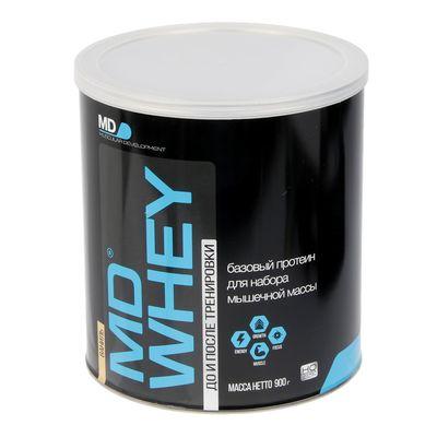 Протеин MD Whey 60% ультрафильтрационный концентрат, ваниль, 900 г