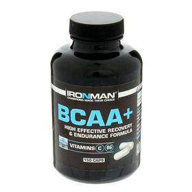Аминокислоты Ironman ВСАА+, 150 капсул