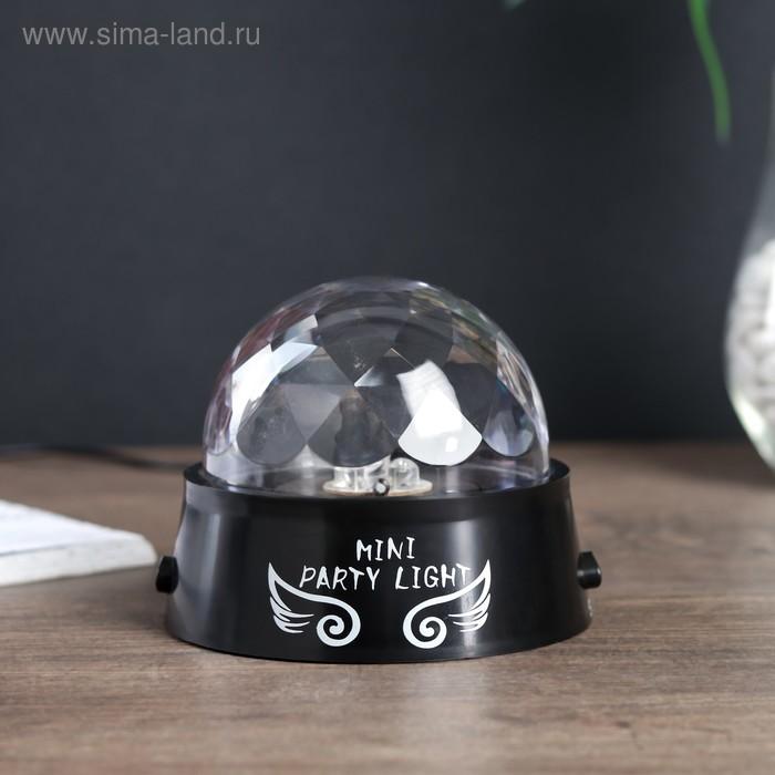 "Ночник ""Диско-шар со звездами"", USB"