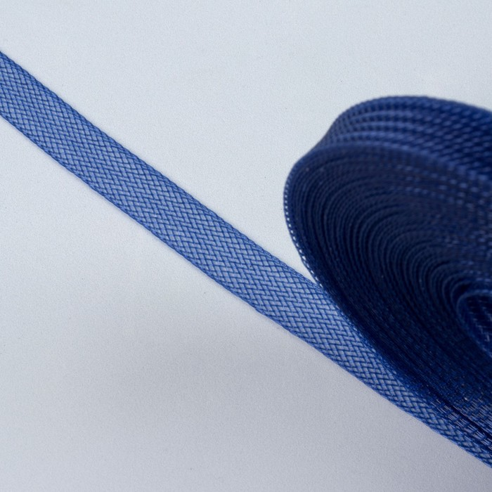 Регилин плоский, 10мм, 45±1м, цвет синий