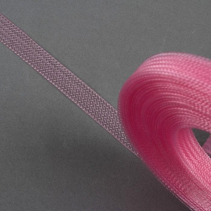 Регилин плоский, 10 мм, 45 ± 1 м, цвет розовый