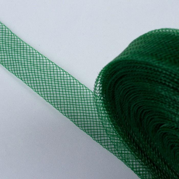 Регилин плоский, 20 мм, 45 ± 1 м, цвет зелёный