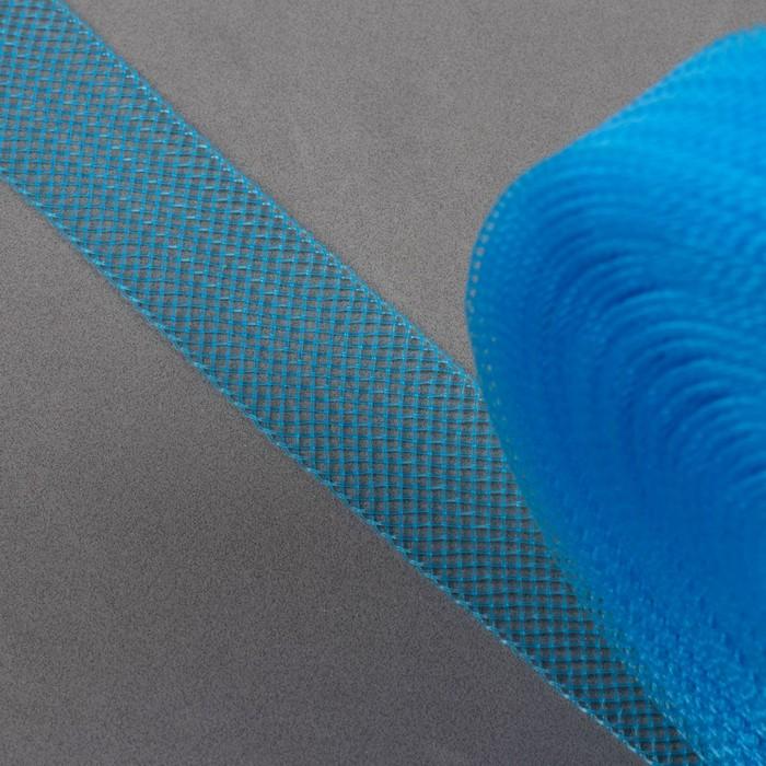 Регилин плоский, 20 мм, 45 ± 1 м, цвет голубой