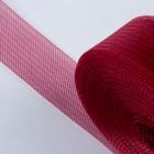 Регилин плоский, 40 мм, 45 ± 1 м, цвет бордовый