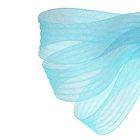 Регилин плоский, гофрированный, 44мм, 20±1м, цвет голубой