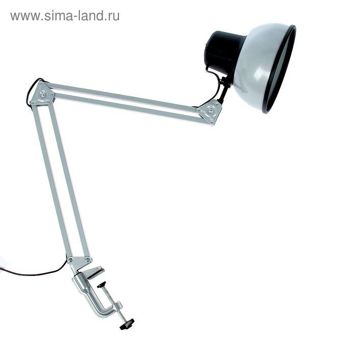 """Светильник настольный """"Бета-К"""", серебро, без лампы"""