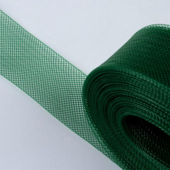 Регилин плоский, 40 мм, 45 ± 1 м, цвет зелёный