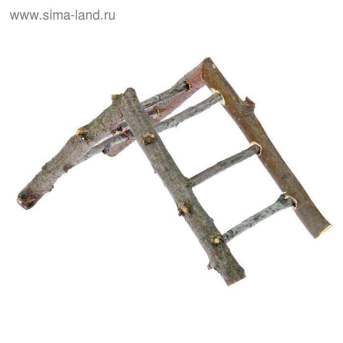 Лесенка угловая, эко-серия, , 21 х 10 х 11,5 см