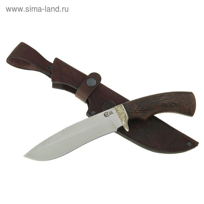 """Нож нескладной """"Скиф"""", кованная сталь 95х18, рукоять-венге, литье"""